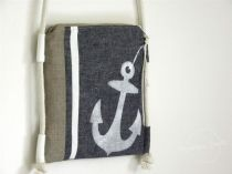 Summer Purse with Anchor Design by Daga